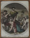 Agricola Luigi - D'Angelo Raffaele sec. XIX, Gesù aiutato dal cireneo