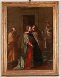 Bottega Italia centrale secc. XVI-XVII, Cornice lignea modanata e dorata 1/2