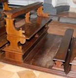 Bottega umbra (1744), Banco inginocchiatoio basso 3/18