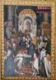 Valli Domenico inizio sc. XVIII, Cornice del Battesimo di San'Agostino