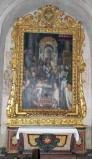 Valli Domenico inizio sec. XVIII, Mostra di altare con foglie d'acanto