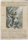 Calcografia Wagner J. seconda metà sec. XVIII, S. Bonaventura vescovo