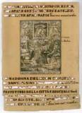 Ambito trentino sec. XVIII, Ss. pregano la Madonna del buon consiglio