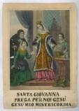 Tipografia Turgis J. L. sec. XIX, S. Giovanna di Valois