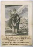 Calcografia Remondini seconda metà sec. XVIII, S. Felice vescovo di Spalato