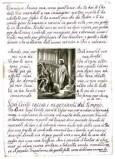 Ambito italiano sec. XIX, Gesù Cristo caccia i mercanti dal Tempio