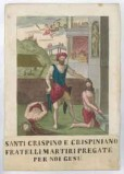 Stamperia Fairolo G. sec. XIX, Martirio dei Ss. Crispino e Crispiniano