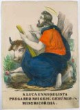 Calcografia Briola P. 1861, S. Luca Evangelista