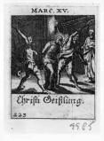Küsel J. C.-Küsel M. M. (1688-1700), Gesù Cristo flagellato