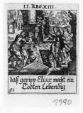 Küsel J. C.-Küsel M. M. (1688-1700), Resurrezione di un uomo