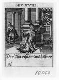 Küsel J. C.-Küsel M. M. (1688-1700), Parabola del fariseo e del pubblicano