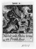 Küsel J. C.-Küsel M. M. (1688-1700), Nadab e Abiu puniti da Dio