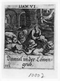 Küsel J. C.-Küsel M. M. (1688-1700), Daniele nella fossa dei leoni