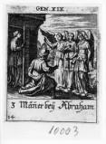 Küsel J. C.-Küsel M. M. (1688-1700), Abramo e i tre angeli