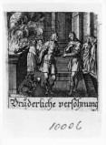 Küsel J. C.-Küsel M. M. (1688-1700), Gesù Cristo insegna la riconciliazione
