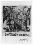 Küsel J. C.-Küsel M. M. (1688-1700), Gesù Cristo guarisce il cieco di Gerico