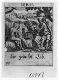Küsel J. C.-Küsel M. M. (1688-1700), Giobbe deriso dalla moglie