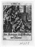 Küsel J. C.-Küsel M. M. (1688-1700), Salomone e la regina di Saba