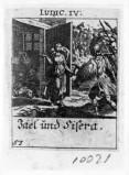 Küsel J. C.-Küsel M. M. (1688-1700), Giaele mostra a Barak il corpo di Sisara