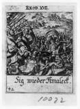 Küsel J. C.-Küsel M. M. (1688-1700), Israeliti combattono gli Amaleciti