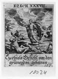 Küsel J. C.-Küsel M. M. (1688-1700), Visione delle ossa aride di Ezechiele