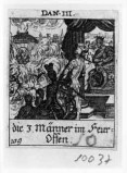 Küsel J. C.-Küsel M. M. (1688-1700), Sadrach con Mesach e Abdenego nella fornace