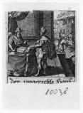 Küsel J. C.-Küsel M. M. (1688-1700), Scena biblica