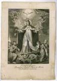 Ambito italiano sec. XVIII, S. Maria della Mercede