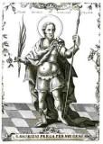 Calcografia Remondini sec. XVIII, S. Teodoro il Grande 1/2