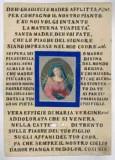 Ambito italiano sec. XIX, Madonna addolorata