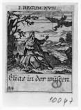 Küsel J. C.-Küsel M. M. (1688-1700), Elia nutrito dai corvi