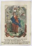 Calcografia Remondini sec. XVIII, S. Rosalia