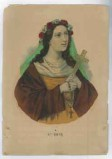 Stamperia Pinot e Sagaire seconda metà sec. XIX, B. Rosa da Viterbo