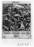 Küsel J. C.-Küsel M. M. (1688-1700), Sansone si vendica dei Filistei
