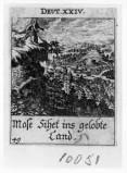 Küsel J. C.-Küsel M. M. (1688-1700), Mosè sul monte Nebo