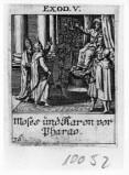 Küsel J. C.-Küsel M. M. (1688-1700), Mosè e Aronne dal faraone