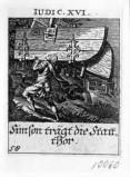 Küsel J. C.-Küsel M. M. (1688-1700), Sansone e le porte di Gaza