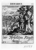 Küsel J. C.-Küsel M. M. (1688-1700), Adorazione del vitello d'oro