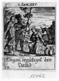 Küsel J. C.-Küsel M. M. (1688-1700), Davide e Abigail