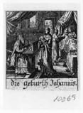 Küsel J. C.-Küsel M. M. (1688-1700), Nascita di S. Giovanni Battista