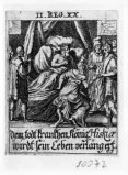 Küsel J. C.-Küsel M. M. (1688-1700), Ezechia riceve gli ambasciatori
