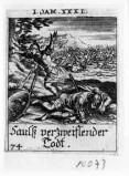 Küsel J. C.-Küsel M. M. (1688-1700), Morte di Saul