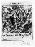 Küsel J. C.-Küsel M. M. (1688-1700), S. Filippo battezza l'eunuco