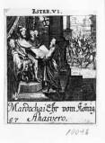 Küsel J. C.-Küsel M. M. (1688-1700), Assuero e il libro delle memorie