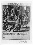 Küsel J. C.-Küsel M. M. (1688-1700), Giudizio di Salomone