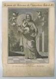 Ambito italiano sec. XVIII, S. Gioacchino e Maria bambina
