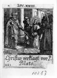 Küsel J. C.-Küsel M. M. (1688-1700), Gesù Cristo davanti a Pilato