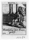 Küsel J. C.-Küsel M. M. (1688-1700), S. Matteo e l'angelo