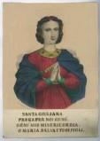 Stamperia Pinot e Sagaire seconda metà sec. XIX, S. Onorina