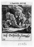 Küsel J. C.-Küsel M. M. (1688-1700), Saul fa evocare Samuele